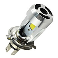 billiga Billampor-H4 Motorcykel Glödlampor 20W COB 2000lm LED Strålkastare