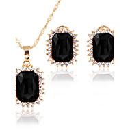 Dámské Sady šperků Přívěšky Svatební šperky Soupravy Kubický zirkon Klasické Módní Rozkošný Euramerican minimalistický styl Svatební