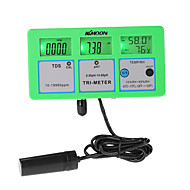 Monitor de qualidade de água kkmoon multi parâmetro lcd
