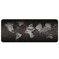 משטח העכבר משטח - משטח נייד גדול משטח - ללא החלקה גומי בסיס מפת העולם משטח העכבר (30x80x0.2cm)