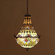 billige Taklamper-Tiffany Takplafond Til Stue Spisestue Entré AC 220-240V Pære Inkludert