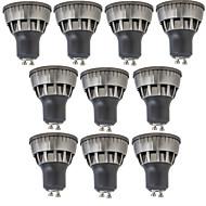 3W GU10 LED-spotpærer 1 leds COB Mulighet for demping Varm hvit Kjølig hvit 320lm 3000