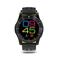 tanie Inteligentne zegarki-Inteligentny zegarekSpalone kalorie Krokomierze Rejestr ćwiczeń Pulsometr Ekran dotykowy Pomiar ciśnienia krwi Informacje Odbieranie bez