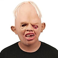 Monstro horrível de alta qualidade, máscaras de látex para adultos, rosto cheio de fumaça respirável, máscara de mascarada, fantasia,
