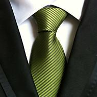 tanie Akcesoria dla mężczyzn-Męskie Dla dorosłych Neckwear Prążki Krawat Prążki
