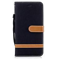 billiga Mobil cases & Skärmskydd-fodral Till Motorola Plånbok / Korthållare / med stativ Fodral Enfärgad Hårt PU läder för Moto G5 Plus / Moto G5 / Moto G4 Plus