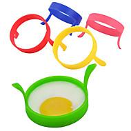 1 クリエイティブキッチンガジェット / 多機能 シリコーン 卵ツール