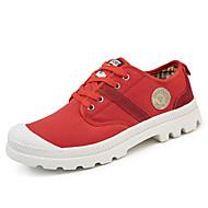 abordables Chaussures de Course Femme-Femme Chaussures Polyuréthane Printemps / Automne Confort / Semelles Légères Chaussures d'Athlétisme Marche Talon Plat Bout rond Lacet