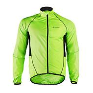 Nuckily Bisiklet Ceketi Erkek Uzun Kollu Bisiklet Yamurluklar Yağmur Paltosu Ceket Üstler Nem Emici Su Geçirmez Hızlı Kuruma Rüzgar
