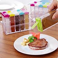 billiga Köksförvaring-1st Köksburkar Plast Lätt att använda Kök Organisation