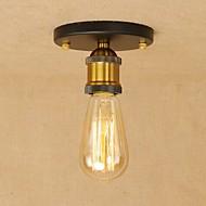 billige Taklamper-OYLYW Takplafond Omgivelseslys - Mini Stil, Rustikk / Hytte Vintage Retro Rød, 110-120V 220-240V Pære ikke Inkludert