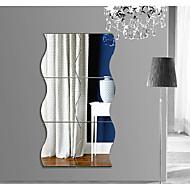 Tvary Abstraktní 3D Samolepky na zeď Samolepky na stěnu 3D samolepky na zeď Nálepky na zeď zrcadlové Ozdobné samolepky na zeď 3D,Akrylát