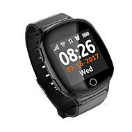tanie Inteligentne zegarki-Inteligentny zegarekWodoszczelny Długi czas czuwania Spalone kalorie Krokomierze Kontrola głosu Rejestr ćwiczeń Sportowy Kamera/aparat