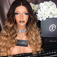Ombre T1B/27 Lace Front Human Hair Wigs Body Wave with Baby Hair 150% Density Brazilian Virgin Hair Glueless Lace Wig for Woman