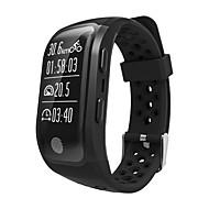 tanie Inteligentne zegarki-Inteligentne Bransoletka GPS Pulsometr Wodoszczelny Ładowanie bezprzewodowe Spalone kalorie Krokomierze Rejestr ćwiczeń Śledzenie