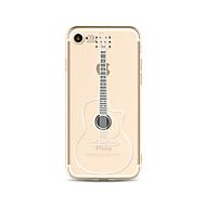 Etui Käyttötarkoitus Apple iPhone X iPhone 8 Plus Läpinäkyvä Kuvio Takakuori Piirretty Pehmeä TPU varten iPhone X iPhone 8 Plus iPhone 8
