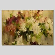 voordelige -Hang-geschilderd olieverfschilderij Handgeschilderde - Abstract Abstract Kangas