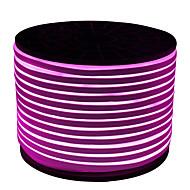 cheap LED Strip Lights-HKV Flexible LED Light Strips 600 LEDs Purple Cuttable Waterproof 220V 110V