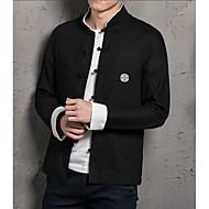 Majica Muškarci-Ležerne prilike Kinezerije Dnevno Vikend Jednobojni Slim