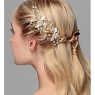 Kristal Imitacija bisera Kosa za kosu 1 Vjenčanje Special Occasion godišnjica Naselje Zabava / večer Ured i karijera Glava