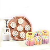 bageform Blomst Til Kage Til Cookies Til Chokolade Til Tærte Plastik Høj kvalitet Gør Det Selv Fødselsdag