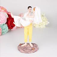 Figure za torte Plaža Teme Pomorski Tema bajka Crtani film Par Classic plastika Vjenčanje Special Occasion godišnjica s 1 Poklon kutija