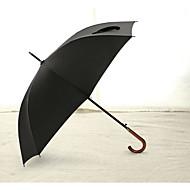Holzgriff stärken super starken faserigen Business-Regenschirm