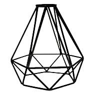 Χαμηλού Κόστους LED Gadgets-Vintage βιομηχανική diy μαύρο μεταλλικό κλουβί φως λαμπτήρα φως σκιά κάλυμμα για κρεμαστά φώτα τοίχο φώτα αντικατάσταση κάλυμμα λαμπτήρα