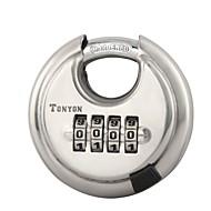 billige Tastelåser-25005 Hengelås Rustfritt Stål + A-klasse ABS Lås opp passord til Dør