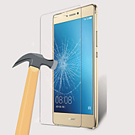 Vidro Temperado Alta Definição (HD) Dureza 9H Borda Arredondada 2.5D Protetor de Tela Frontal Huawei