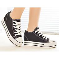 Damen Schuhe Atmungsaktive Mesh Frühling Komfort Sneakers Für Normal Weiß Schwarz Rot Blau