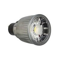 billige Spotlys med LED-7W 780lm GU10 LED-spotpærer 1 LED perler COB Dekorativ Varm hvit / Kjølig hvit 85-265V
