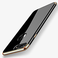 cheap -Case For Apple iPhone X iPhone 8 Plating Back Cover Solid Color Soft TPU for iPhone X iPhone 8 Plus iPhone 8 iPhone 7 Plus iPhone 7