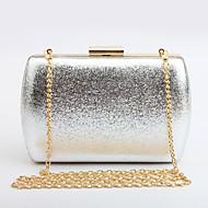 Žene Torbe Sva doba PU Večernja torbica Metalik za Vjenčanje Zabave Kauzalni Formalan Šampanjac Zlato Crn Pink Sive boje