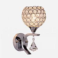 tanie Kinkiety Ścienne-Kryształ / Nowoczesny Lampy ścienne Metal Światło ścienne 110-120V / 220-240V 60 W / E26 / E27