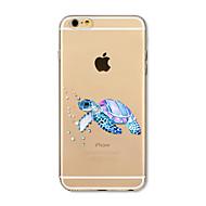 ケース 用途 Apple iPhone X iPhone 8 Plus クリア パターン バックカバー 動物 ソフト TPU のために iPhone X iPhone 8 Plus iPhone 8 iPhone 7プラス iPhone 7 iPhone 6s Plus