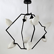 cheap Chandeliers-Modern/Contemporary Mini Style Chandelier Ambient Light For Indoor Garage Shops/Cafes 4860-5400lm 110-120V 220-240V Bulb Not Included