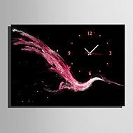 E-HOME® Abstract Flying Birds Clock in Canvas 1pcs
