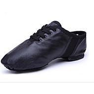 Dames Jazz Canvas Weefsel Platte schoenen Hakken Oefenen Zwart
