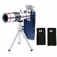 Lingwei 18x zoom samsung kamera telefoto objektiv širokokutni lećasti objektiv / držač telefona / tvrdi predmet / torba za čišćenje