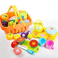 Toy Kuhinjske garniture Posuđe Igračke & Tea Setovi Igračke - hrana Maskiranje Igračke za kućne ljubimce Hrana Voće vjeran Sigurno za