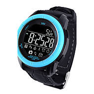 남성용 스포츠 시계 밀리터리 시계 드레스 시계 회중 시계 스마트 시계 패션 시계 손목 시계 독특한 창조적 인 시계 디지털 시계 중국어 디지털 알람 달력 방수 스피드오미터 만보기 대화 큰 다이얼 실리콘 밴드 참 사치 창조적 뱅글 멋진 우아한 멀티컬러