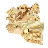 Lego Puzzle 3D Puzzle Μοντέλα και κιτ δόμησης Jucarii Clădire celebru Casă Arhitectură 3D Reparații Unisex Băieți Bucăți