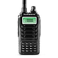 billige Walkie-talkies-Dual band 2-veis radio dual standby dual display quansheng tg-uv2 med fcc ce sertifisering walkie talkie