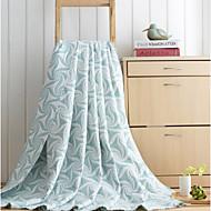 cheap Blankets & Throws-Woven Creative Bamboo/Cotton Blankets