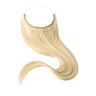 Fil de fer invisible de 18 pouces dans les extensions de cheveux humains extension d'une main de 80g