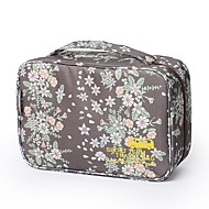 Travel Bag Travel Luggage Organizer / Packing Organizer Cosmetic & Makeup Bag Waterproof Portable Cute for Clothes Nylon 29*11*18 Floral