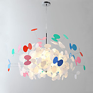 cheap Chandeliers-Rustic/Lodge LED Chic & Modern Bulb Included Pendant Light Ambient Light For Girls Room Kids Room 110-120V 220-240V Bulb Included