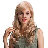 Perucas de cabelo humano de longa onda romântica fresca