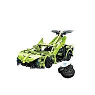ブロックおもちゃ ラジオコントロール 自動車おもちゃ 知育玩具 おもちゃ 車載 シミュレーション DIY 子供用 小品